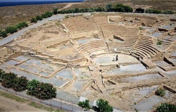 Το θέατρο της Ηφαιστίας στην Λήμνο από τα αρχαιότερα του ελληνικού κόσμου