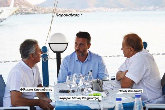 Συνεντευξη στο ΣΑΛΑΜΙΝΙΩΝ ΒΗΜΑ  του νέου Δημάρχου Σαλαμίνας κ. Γεωργίου Παναγόπουλου.