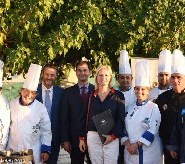 Λήξη 1ου Φεστιβάλ Γαστρονομίας & Οίνου Δήμου Σαλαμίνας