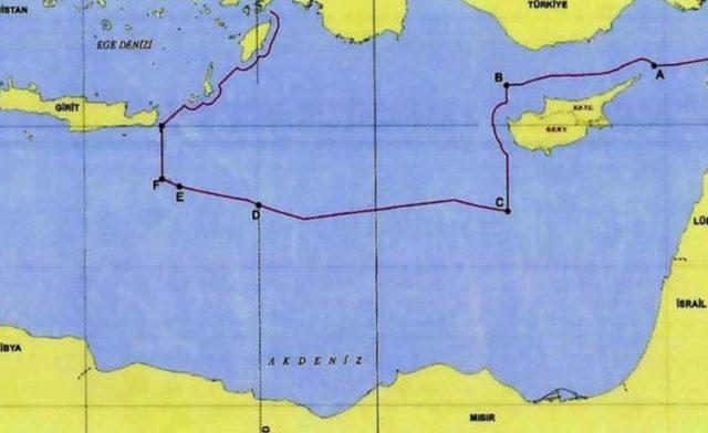 Η Τουρκία εξαφανίζει από τον χάρτη την υφαλοκρηπίδα της Κρήτης