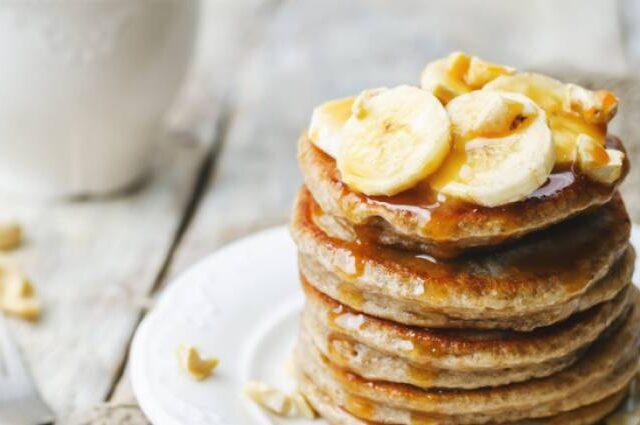 Σπιτικές τηγανίτες μπανάνας