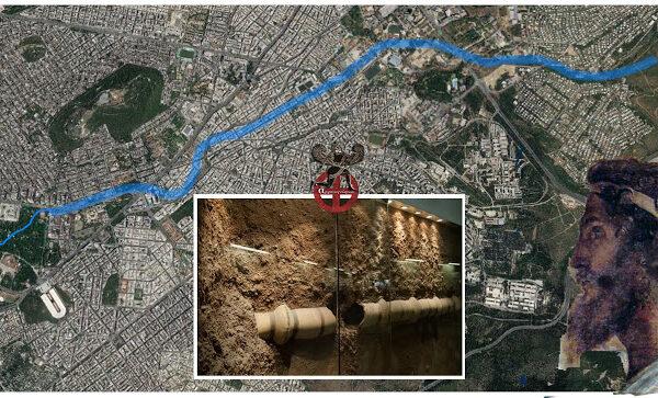Το υδραγωγείο του Πεισίστρατου στην Αθήνα…Συνεχίζει να λειτουργεί επί 2.500 χρόνια…!