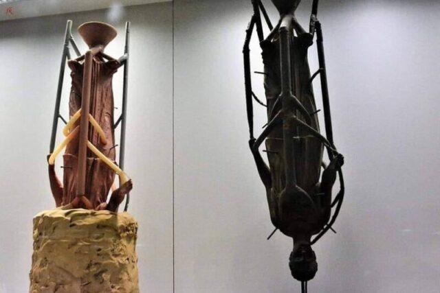 Πώς φτιάχνονται ορειχάλκινα αγάλματα με την τεχνική «χαμένου κεριού»
