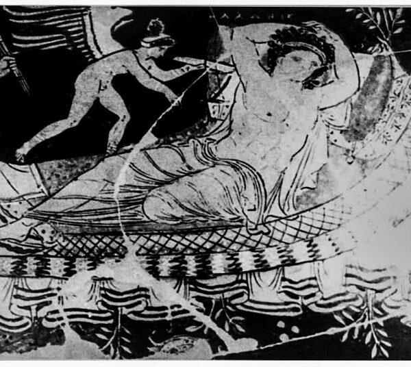 Πάνω σε οβελούς λοιπόν, συνήθιζαν να ψήνουν οι αρχαίοι Έλληνες ολόκληρα αρνιά και κατσίκια …