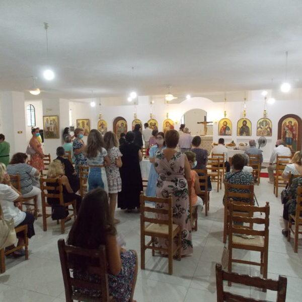 Θυρανιξεια εκκλησίας Κακη Βιγλα